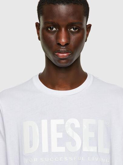 Diesel - T-JUST-INLOGO, Blanco - Camisetas - Image 3