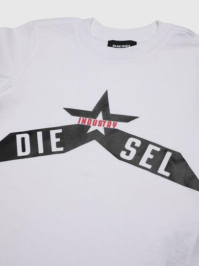 Diesel - TDIEGOA7B-R, Blanco - Camisetas y Tops - Image 3