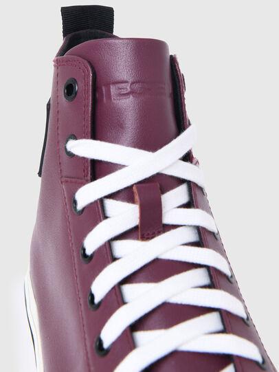 Diesel - S-ASTICO MID CUT, Violeta Oscuro - Sneakers - Image 5