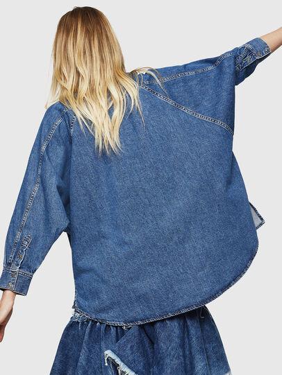 Diesel - DE-NOVA, Azul medio - Camisas de Denim - Image 2