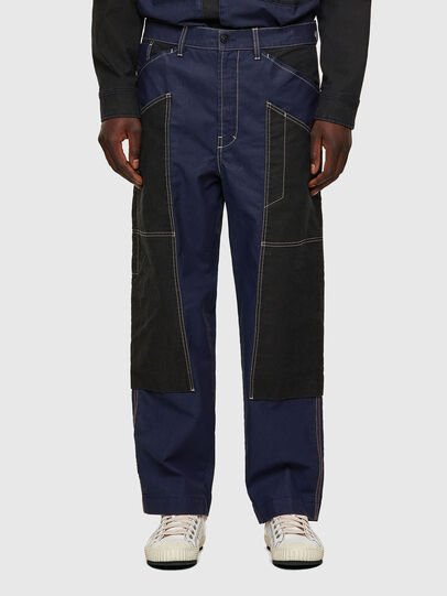 Diesel - D-Franky JoggJeans® 0EEAW, Azul Oscuro - Vaqueros - Image 1