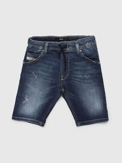 Diesel - KROOLEY-JOGGJEANS-J SH, Azul medio - Shorts - Image 1