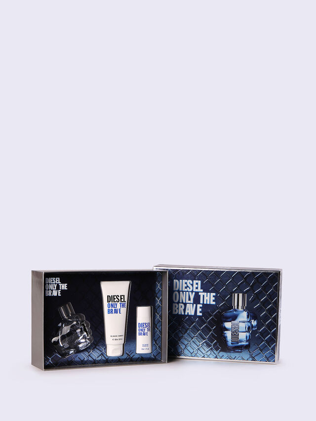 Diesel - ONLY THE BRAVE 50ML GIFT SET, Azul - Only The Brave - Image 1