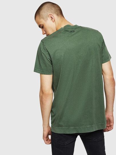 Diesel - T-THEA, Verde Oscuro - Camisetas - Image 2