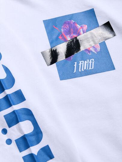 Diesel - TFONTYX, Blanco - Camisetas y Tops - Image 3