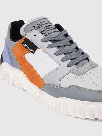 Diesel - S-RUA LOW90, Gris - Sneakers - Image 4