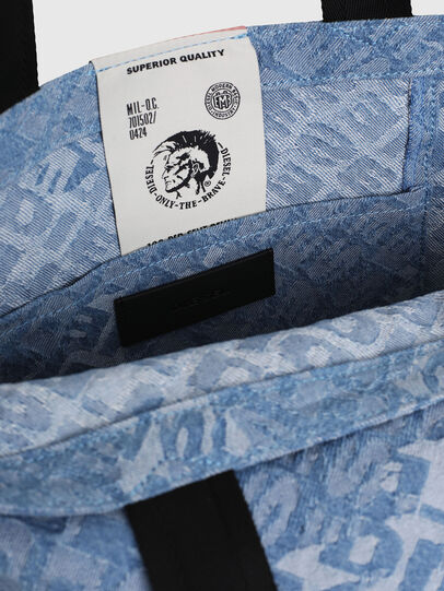 Diesel - F-THISBAG SHOPPER NS, Blue Jeans - Bolsos Shopper y Al Hombro - Image 5