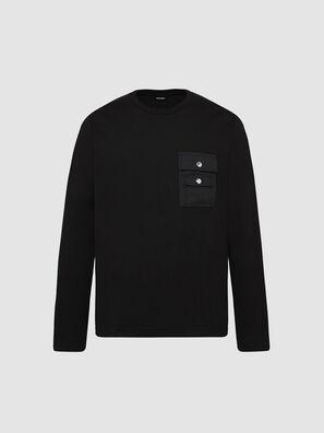 T-TASK-LS, Negro - Camisetas