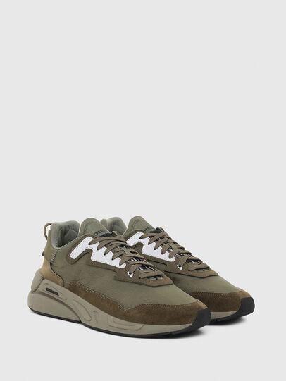 Diesel - S-SERENDIPITY LC, Verde Oliva - Sneakers - Image 2