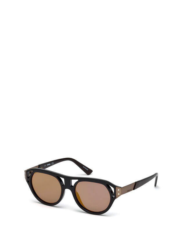 Diesel - DL0233, Negro - Gafas de sol - Image 6
