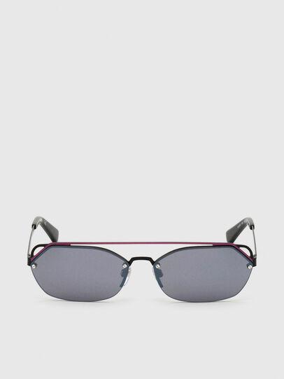 Diesel - DL0313, Negro/Violeta - Gafas de sol - Image 1