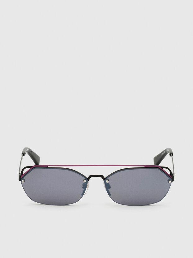 DL0313, Negro/Violeta - Gafas de sol