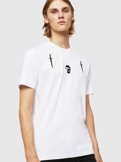 Diesel - TY-X2, Blanco - Camisetas - Image 1
