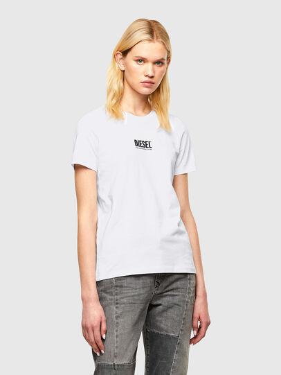 Diesel - T-SILY-SMALLOGO, Blanco - Camisetas - Image 1