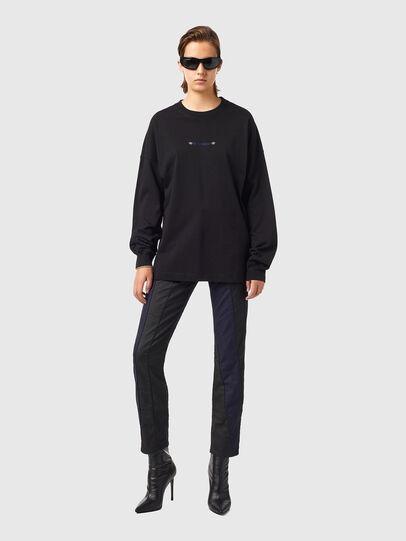 Diesel - T-BLONG, Negro - Camisetas - Image 4