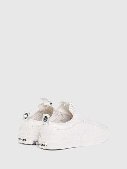Diesel - S-ASTICO LOW ZIP SP, Blanco - Sneakers - Image 3