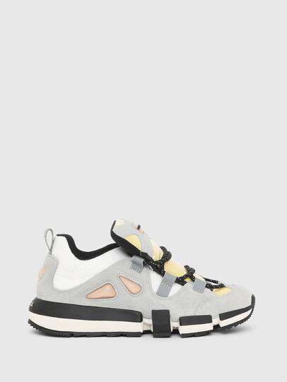 Diesel - H-PADOLA SL W, Gris/Blanco - Sneakers - Image 1