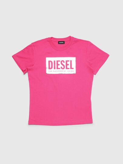 Diesel - TFOIL, Rosa - Camisetas y Tops - Image 1