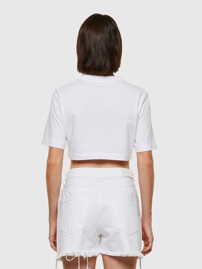 Diesel - T-RECROP, Blanco - Camisetas - Image 2