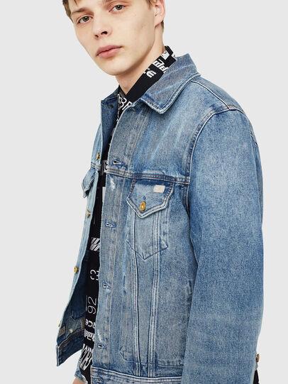 Diesel - D-BRAY, Blue Jeans - Chaquetas de denim - Image 3