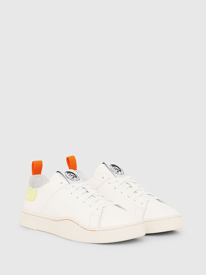 Diesel - S-CLEVER LS W, Blanco/Amarillo - Sneakers - Image 2