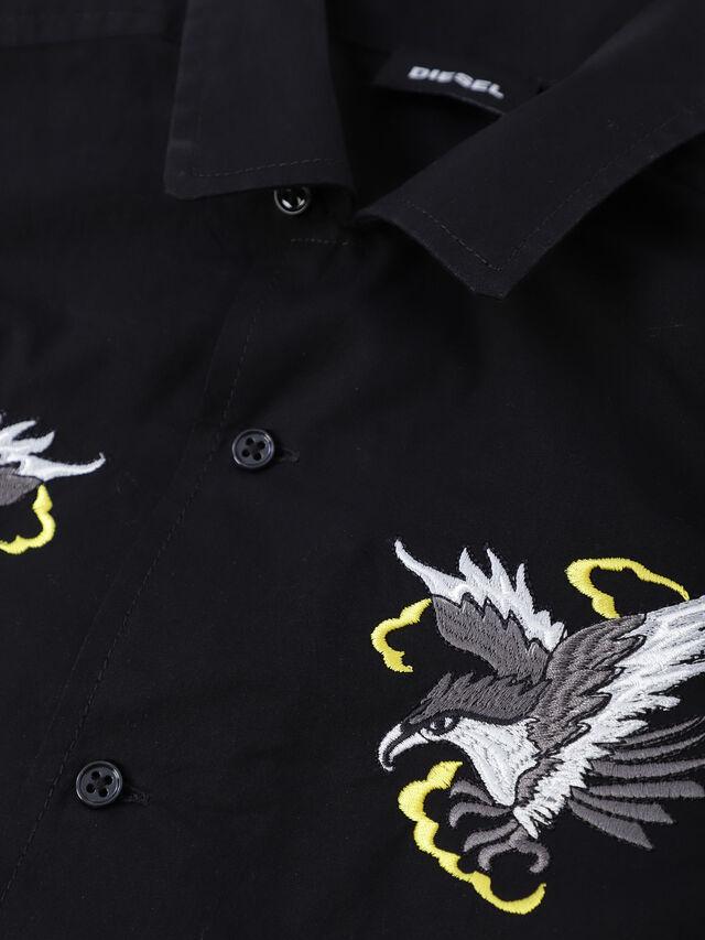 Diesel - CSEAGLE, Negro - Camisas - Image 3
