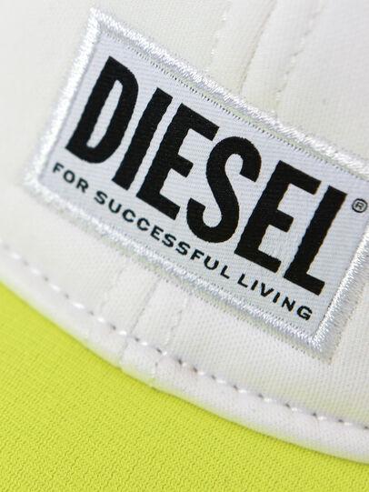 Diesel - DURBO, Blanco/Amarillo - Gorras - Image 3