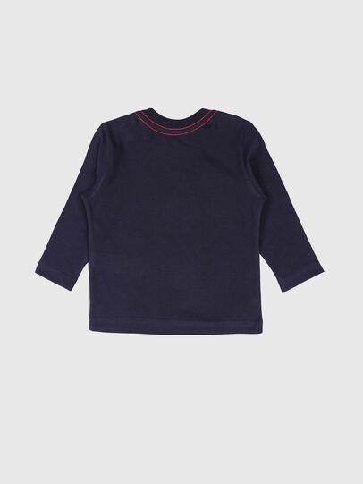Diesel - TOQUEB, Azul Marino - Camisetas y Tops - Image 2