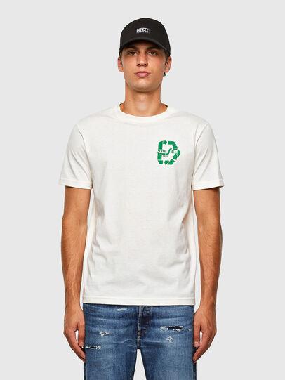 Diesel - T-JUST-N40, Blanco - Camisetas - Image 1