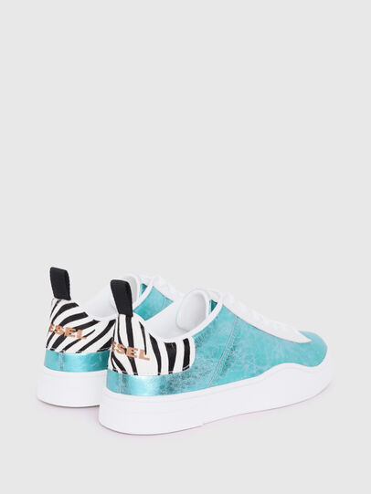 Diesel - S-CLEVER LOW LACE W, Celeste - Sneakers - Image 3
