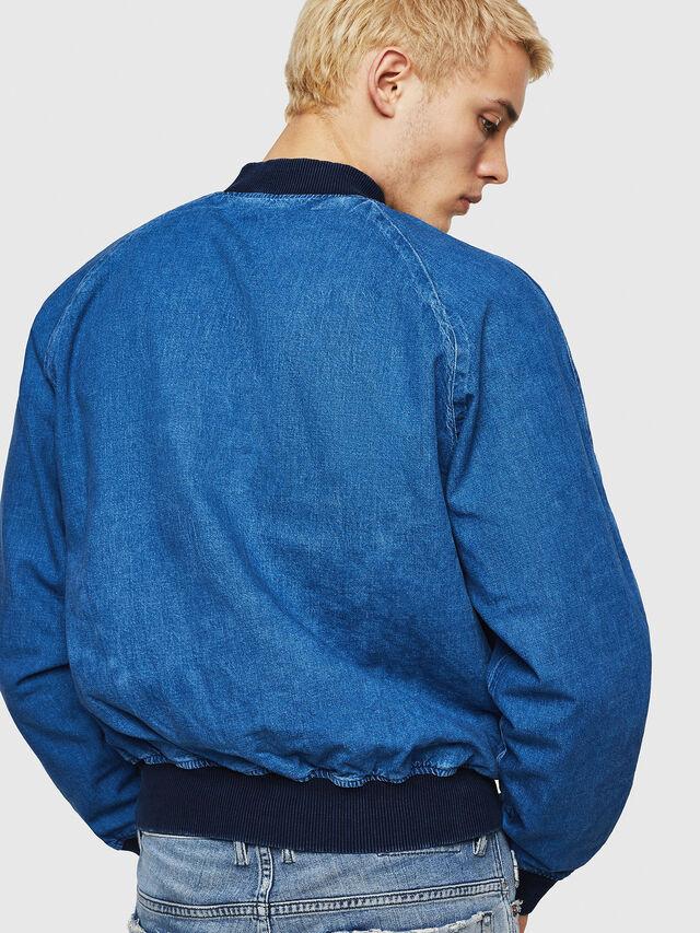 Diesel - D-BAK, Blue Jeans - Chaquetas de denim - Image 6