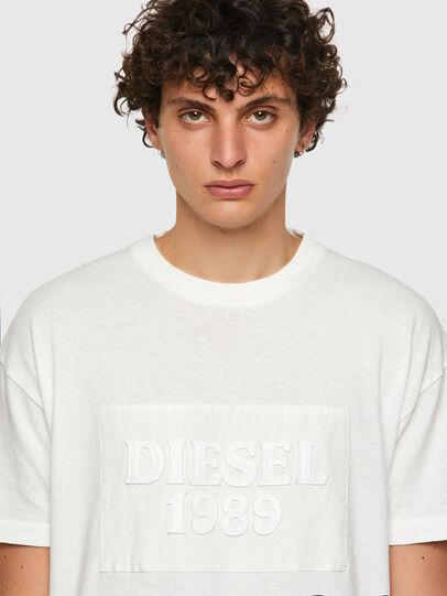 Diesel - DxD-20, Blanco - Camisetas - Image 4