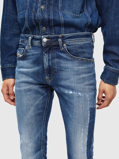 Diesel - Thommer 0097W, Azul Oscuro - Vaqueros - Image 5