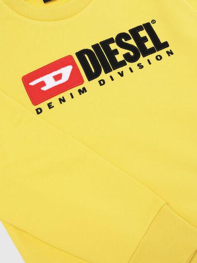 Diesel - SCREWDIVISION OVER, Amarillo - Sudaderas - Image 3