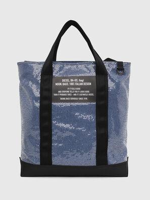 F-THISBAG SHOWAY, Azul/Negro - Bolsos Shopper y Al Hombro