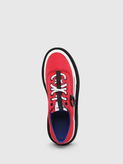 Diesel - H-SCIROCCO LOW, Rojo Fuego - Sneakers - Image 4