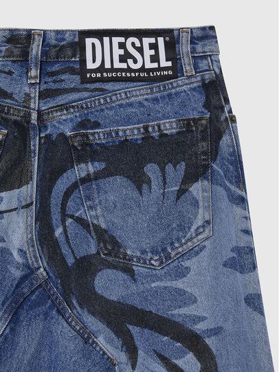 Diesel - DE-SPIZ, Azul Claro - Faldas - Image 4