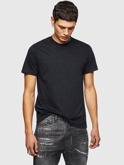Diesel - T-THURE, Negro - Camisetas - Image 1