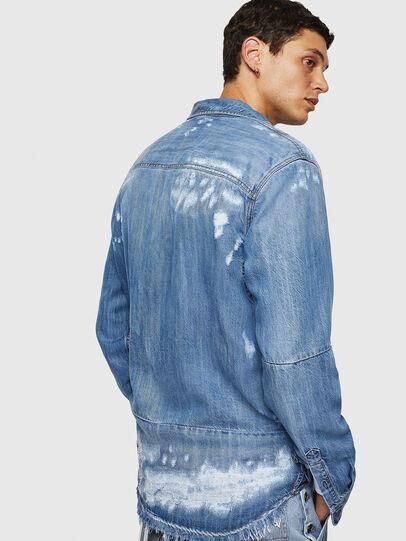 Diesel - D-FRED, Azul Claro - Camisas de Denim - Image 6