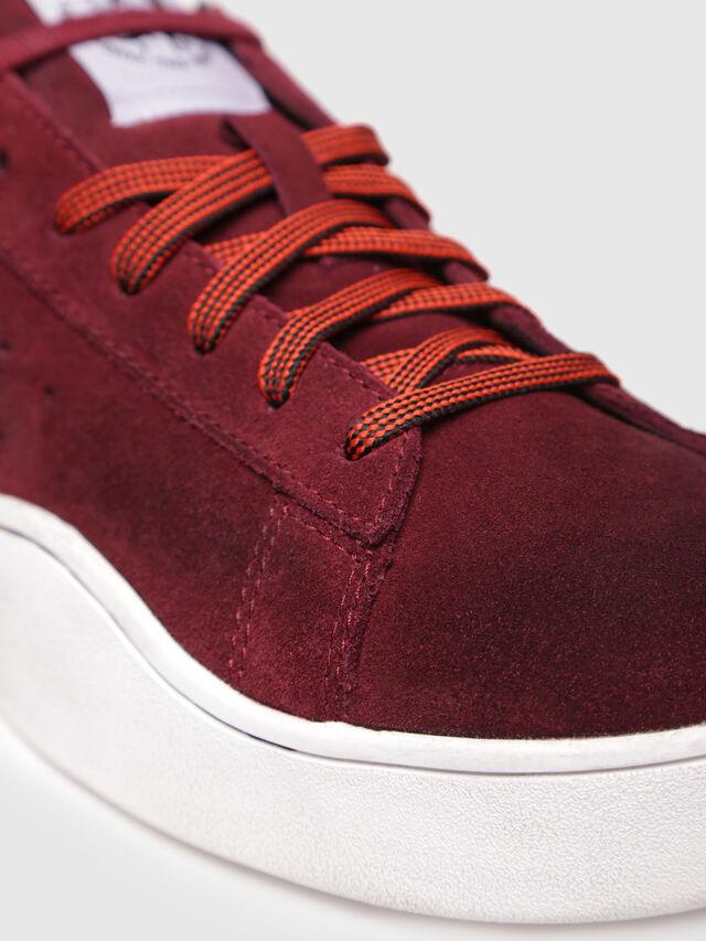 Diesel - S-CLEVER LOW, Rojo Vino - Sneakers - Image 4