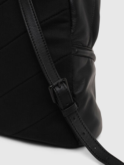 Diesel - LE-ZIPPER BACKPACK, Negro - Mochilas - Image 5