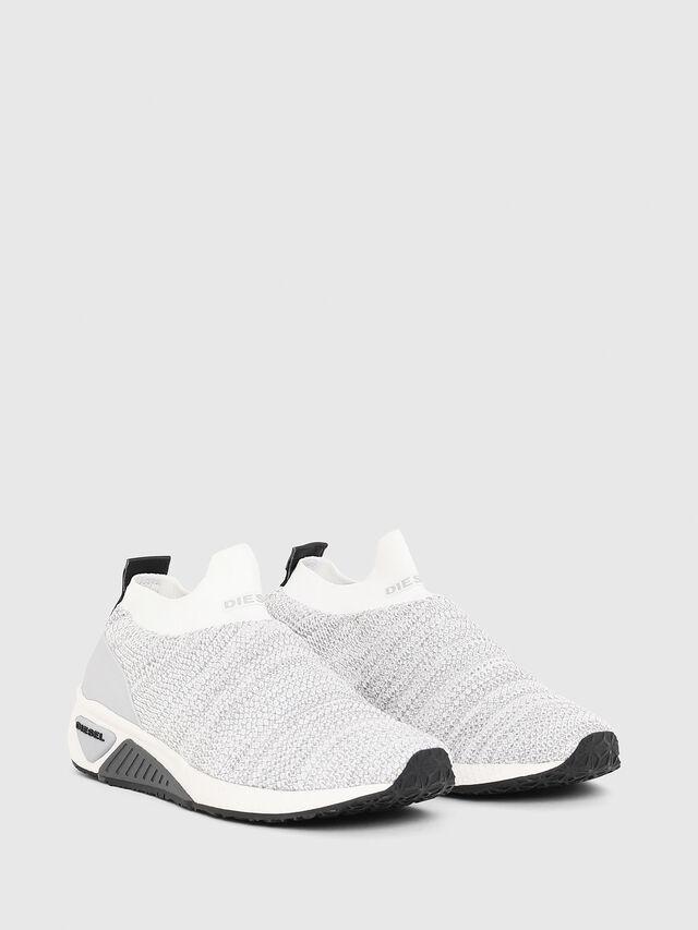 Diesel - S-KB ATHL SOCK W, Gris Claro - Sneakers - Image 2