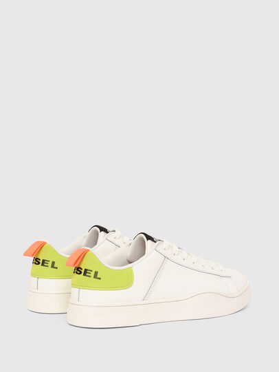Diesel - S-CLEVER LOW LACE, Blanco/Amarillo - Sneakers - Image 3