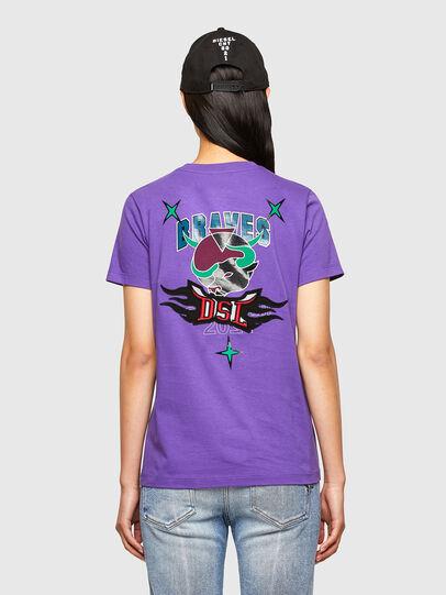 Diesel - CL-T-SILY-O, Violeta - Camisetas - Image 2