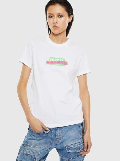 Diesel - T-SILY-S2, Blanco - Camisetas - Image 1