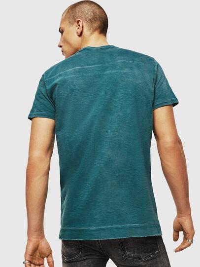 Diesel - T-DIEGO-CUT-AC, Azul Marino - Camisetas - Image 2