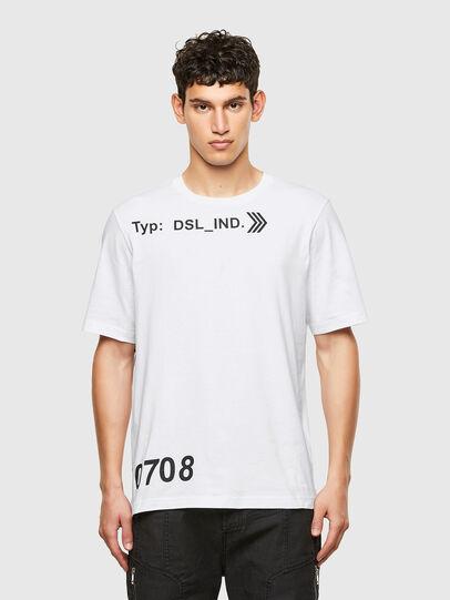 Diesel - T-JUST-A42, Blanco - Camisetas - Image 1