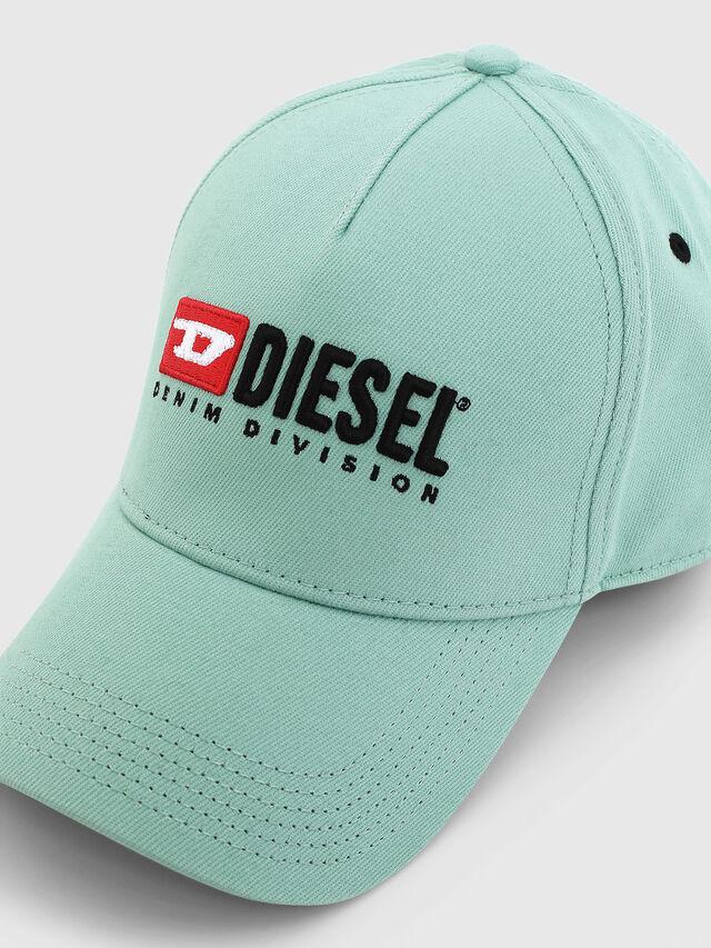 Diesel - CAKERYM-MAX, Verde Agua - Gorras - Image 3