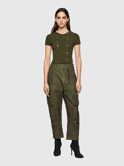 Diesel - P-EMMA, Verde Militar - Pantalones - Image 5