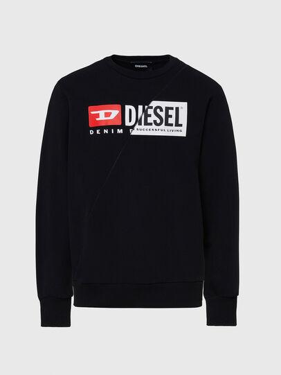 Diesel - S-GIRK-CUTY, Negro - Sudaderas - Image 1